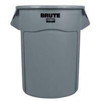 BRUTE 多用途储物桶208L-灰色55加仑FG265500(不含配件)