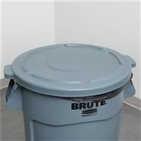BRUTE 多用途储物桶桶盖-灰色FG264560(配FG264360/166L桶)