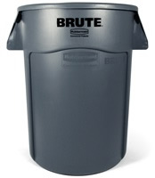 BRUTE 多用途储物桶166L-灰色FG264360(不含配件)