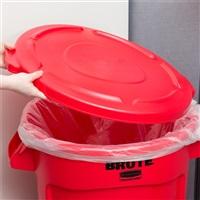 BRUTE 贮物桶桶盖-红色FG263100(配FG263200/121L贮物桶)