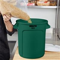 BRUTE 多用途储物桶37.9L-绿色 FG261000(不含桶盖)