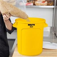 BRUTE 多用途储物桶37.9L-黄色 FG261000(不含桶盖)