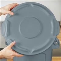 BRUTE 桶盖-灰色 FG260900(配FG261000多用途储物桶)