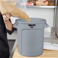 BRUTE 多用途储物桶37.9L-灰色 FG261000(不含桶盖)