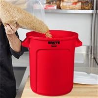 BRUTE 多用途储物桶37.9L-红色 FG261000(不含桶盖)