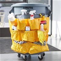 BRUTE 清洁用具袋-黄色FG264200(配FG263200、FG264360桶)